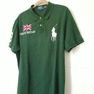 Polo Ralph Lauren Custom Fit Great Britain Shirt